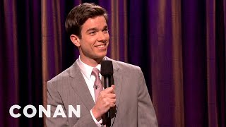 Download John Mulaney's Parents Don't Make For A Great Date - CONAN on TBS Video