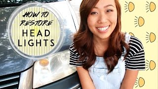 Download HOW TO RESTORE HEADLIGHTS Video