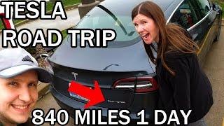 Download 1,700 Mile Road Trip in the Tesla Model 3 - Part 1 Video