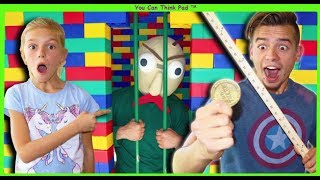 Download Baldi Goes To GIANT LEGO JAIL! Tannerites VS Baldi's BASICS In REAL LIFE! Video