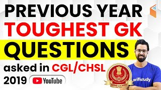 Download SSC CGL/CHSL 2019-20 | Previous Year Toughest GK Questions by Bhunesh Sir Video