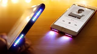 Download Glowing Speaker iPhone Mod! See Your Music in RGB! Video