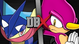 Download Greninja VS Espio (Pokemon VS Sonic the Hedgehog) | DBX Video