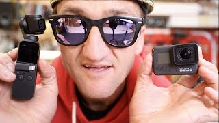 Download DJI OSMO Pocket vs. GOPRO 7 (which has better stabilization??) Video