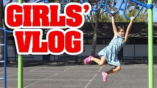Download GIRLS' VLOG - Monkey Bar Madness!!! Video
