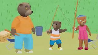 Download Petit Ours Brun 3D - La partie de pêche Video