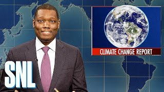 Download Weekend Update: U.N.'s Climate Change Report - SNL Video