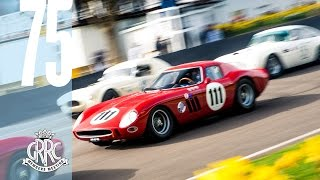 Download On board V12 Ferrari 250 GTO/64 racing at Goodwood Video