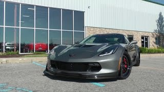 Download C7 Corvette Z06 Takes off like a Bat out of Hell Video