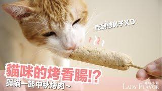 Download 貓咪的烤香腸!烤肉別忘了貓咪的份喔!【好味貓廚房】EP114 Video