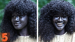 Download 5 People With Unique Skin Colors Video