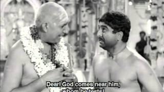 Download Restoring Faith in God - Thunaivan Tamil Movie Scene - A.V.M. Rajan Video