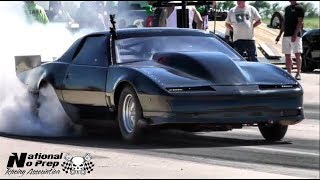 Download Turbo Firebird vs Thot Rod boosted Mustang at Kansas equalizer small tire shootout Video