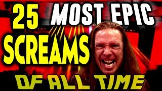 Download 25 MOST EPIC SCREAMS OF ALL TIME | Ken Tamplin Vocal Coach Reaction Video