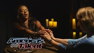 Download Mel B Pranks the Audience as Psychic Spice - America's Got Talent 2014 Video