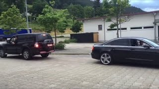 Download Audi VS Nissan VS Toyota VS Jeep VS Mitsubishi VS Land Rover - Tug of War Video