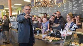 Download US President Barack Obama buys all the cinnamon buns at Alaska cafe Video