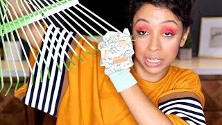 Download DOING MAKE UP WITH GARDENING TOOLS!! Video
