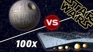 Download The Death Star vs 100 Super Star Destroyers | Star Wars: Who Would Win Video