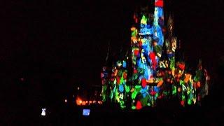 Download Disney Magic Kingdom NEW!! Lights Castle Show 2016 Cindirella Castle Video