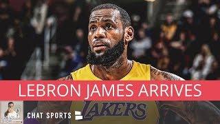Download LeBron James Arrives At Summer League, Kawhi Still Wants LA, & Le'Veon Bell's Contract Video