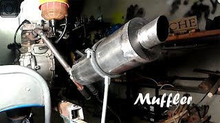 Download Homemade Exhaust MUFFLER For 10$ Video