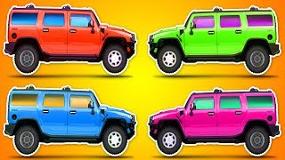 Belajar Menggambar Mainan Mobil Mobilan Dan Mewarnai Untuk Anak Free