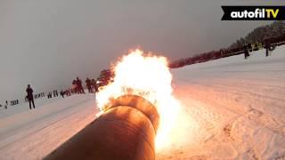 Download Jetmotorisert snøscooter - Jet Engined Snowmobile - Autofil Video