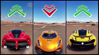Download The Ultimate Battle! | Forza Horizon 3 | LaFerrari vs Reverse Regera vs P1 Video