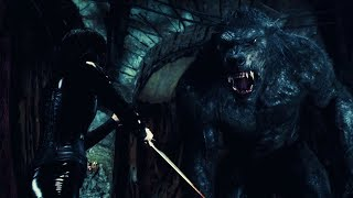Download Underworld Awakening | Selene vs Giant Werewolf Video