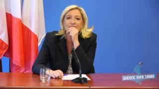Download Interrogée sur la Ligue de Défense Juive, déstabilisée, Marine le Pen esquive la question Video