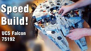 Download LEGO Star Wars: UCS Millennium Falcon 75192 SPEED BUILD! Video