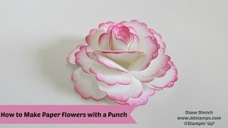 Download How To Make Paper Flowers Video