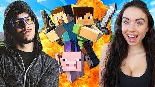 Download MINECRAFT w/ MY GIRLFRIEND!! (Minecraft #1) Video