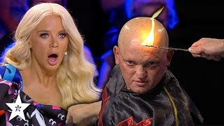 Download Guy SHOCKS Judges With His Electrical Talent! | Got Talent Global Video
