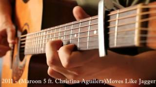 Download Popular Song`s 1960 2015 Guitar Cover Acoustic Fingerstyle Video