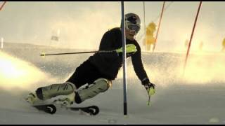 Download Lindsey Vonn Slow Motion Slalom - Red Bull Moments Video