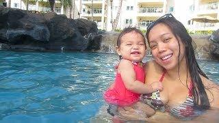 Download Julianna's FIRST Swim & Trick or Treating! - October 31, 2013 - itsJudysLife Vlog Video