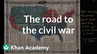 Download Increasing political battles over slavery in mid 1800s | US History | Khan Academy Video
