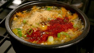 Download Soybean sprout soup with rice (Kongnamul-gukbap: 콩나물국밥) Video