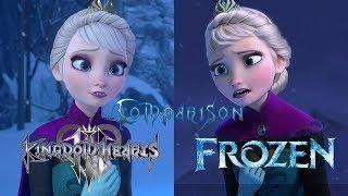 Download Kingdom Hearts 3 vs Frozen - Let it Go Comparison Video