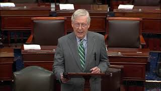 Download LAUGHING DEMS: Mitch McConnell BLASTS Democrats On Laughing About President Trump Impeachment Video