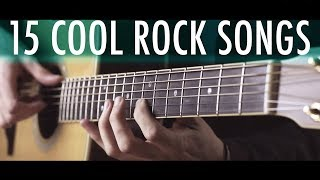 Download 15 SUPER COOL ROCK SONGS in fingerstyle Video