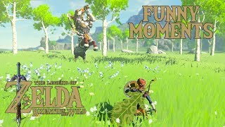 Download MASTER MODE FUNNY MOMENTS - The Legend of Zelda: Breath of the Wild Video