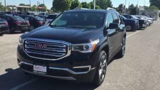 Download DEMO 2017 GMC Acadia SLT 2 AWD Dual Sunroof Black Oshawa ON Stock# 170014 Video