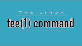 Download Linux Command: 'tee' - Watch & Log Command Output Video