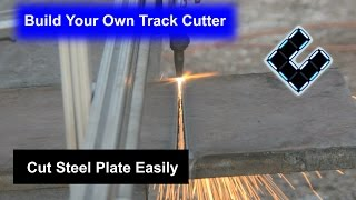 Download DIY Track Cutter, Cut steel sheets easily for less than $200 Video