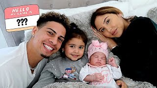 Download BABY NAME REVEAL!!! **IS THE ACE FAMILY NAME CHANGING???** Video