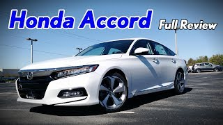 Download 2018 Honda Accord: Full Review | Touring, Sport, EX-L, EX & LX Video
