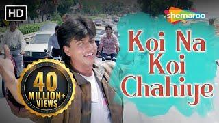 Download Koi Na Koi Chahiye Pyar karne wala (HD) - Deewana Song - Shahrukh Khan - Filmigaane Video